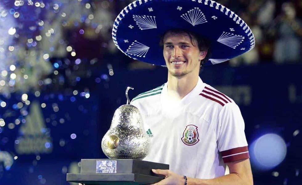 Alexander Zverev conquista el Abierto Mexicano de TenisSubtítulo