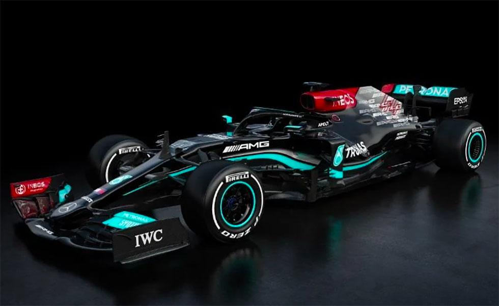 Así es el nuevo Mercedes-AMG W12 de Lewis HamiltonSubtítulo