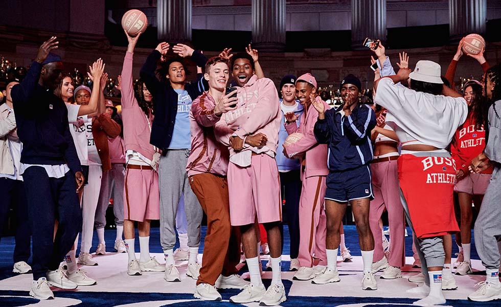 BOSS y Russell Athletic: Elegante, alegre y deportivoSubtítulo