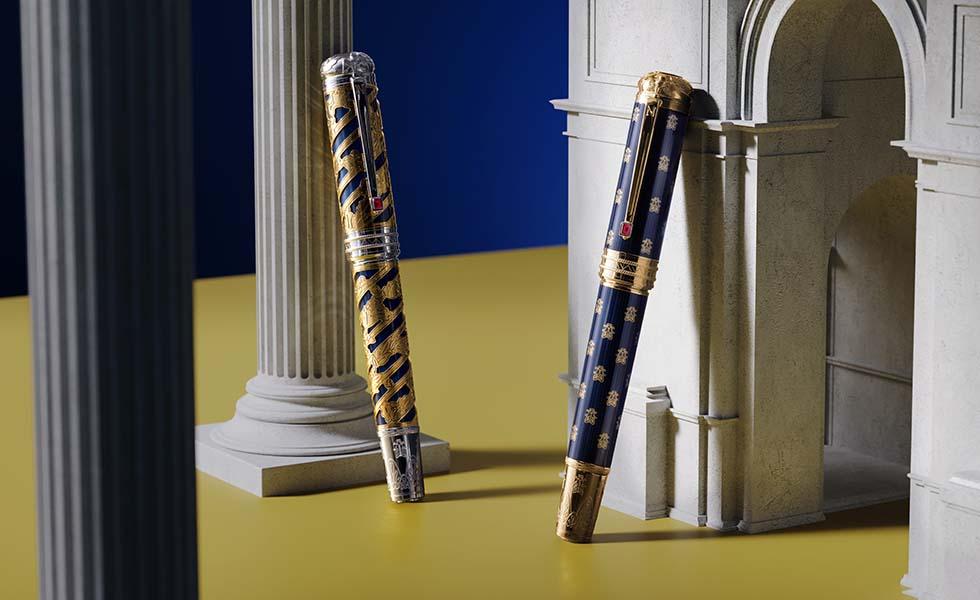 Montblanc se inspira en Napoleón para su nueva colecciónSubtítulo