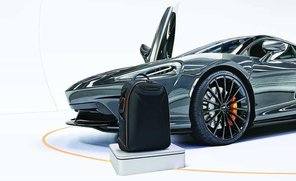 TUMI y McLaren presentan una colección exclusivaSubtítulo