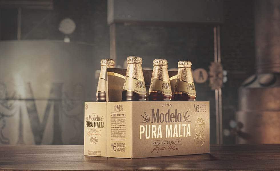 Modelo presenta 'Pura Malta', tributo al campo mexicanoSubtítulo