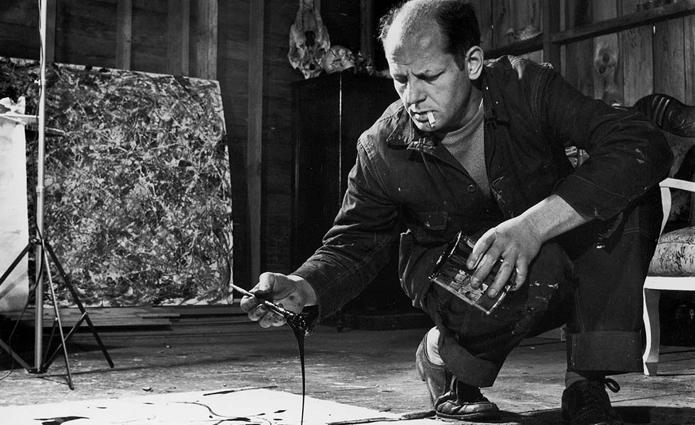 Jackson Pollock, el arte gota a gotaSubtítulo