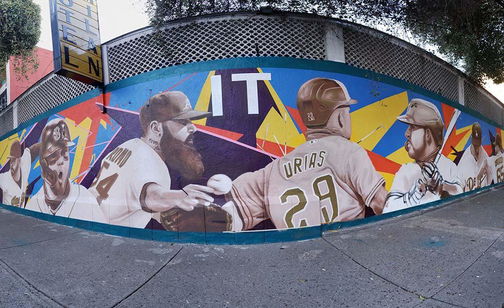 MLB va por su quinto mural en la CDMXSubtítulo