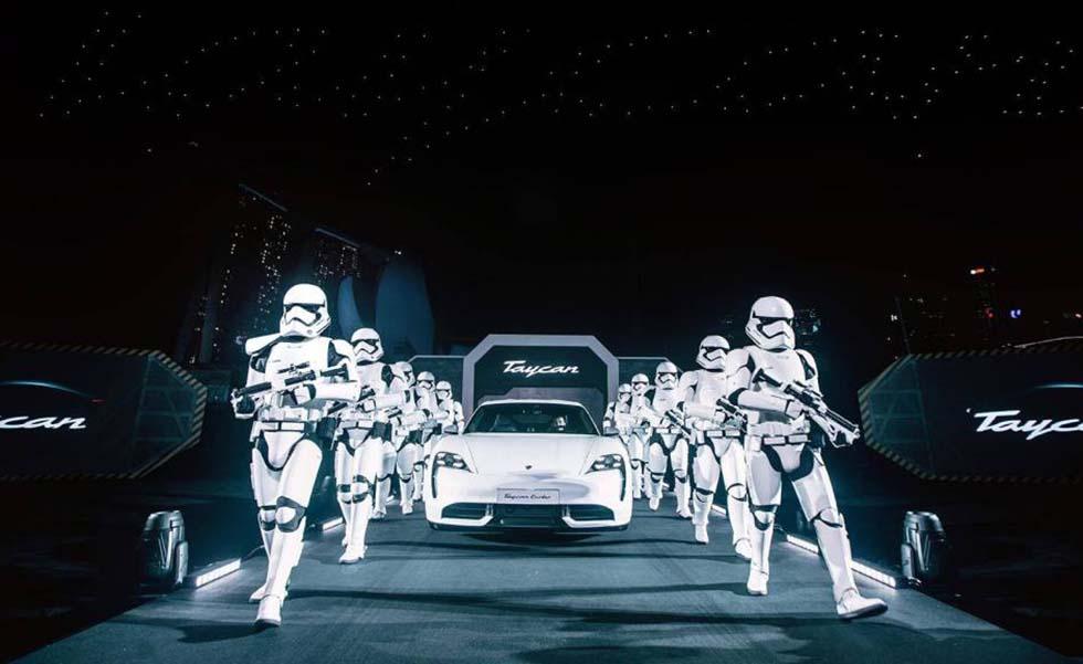 Así es la nave que Porsche creó para Star WarsSubtítulo