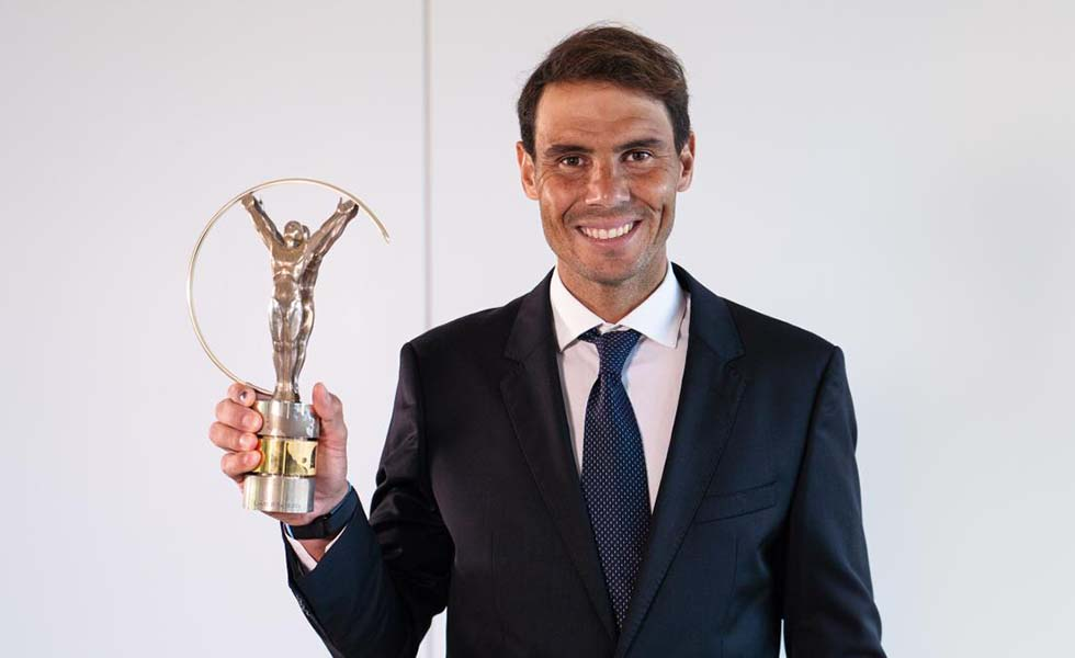 Rafa Nadal, Premio Laureus 2021 al mejor deportistaSubtítulo