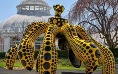 Yayoi Kusama invade el Jardín Botánico de Nueva YorkSubtítulo