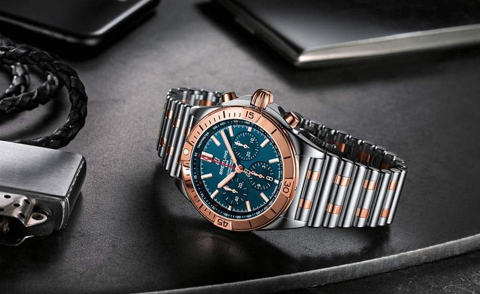 Breitling deslumbra con el doble tono de su reloj emblemaSubtítulo
