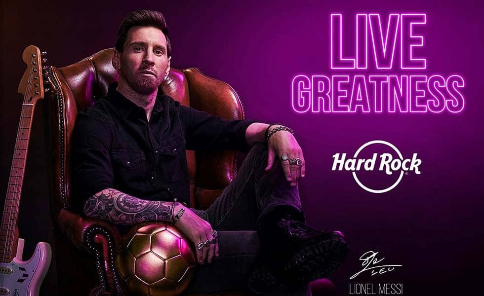 Hard Rock Hotels celebra su 50 aniversario con MessiSubtítulo