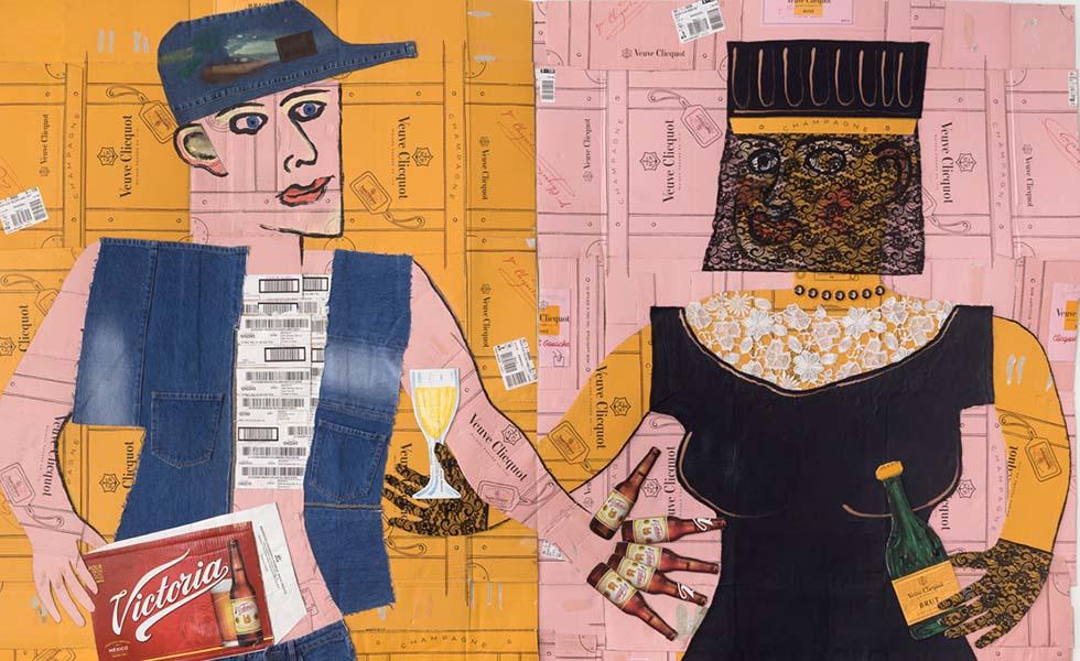 Champagne y arte se unen en exclusiva exposiciónSubtítulo