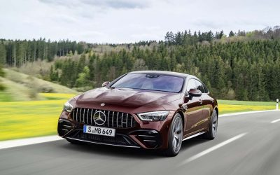 Así es el estiloso Mercedes-AMG GT CoupéSubtítulo