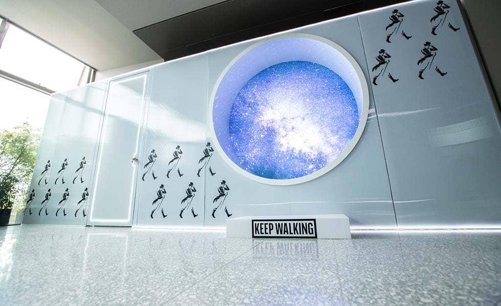 Misión Keep Walking: The Comeback ExperienceSubtítulo