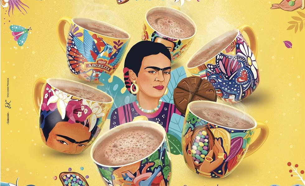 Un diseño inspirado en Frida KahloSubtítulo