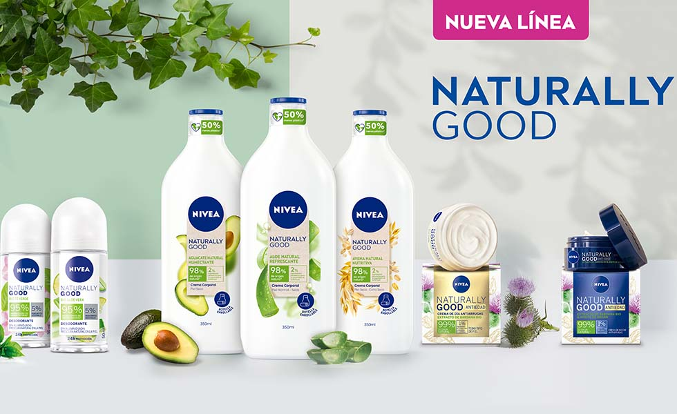 Nivea presenta Naturally GoodSubtítulo