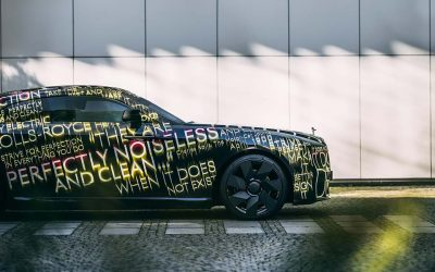 Así es el primer auto eléctrico de Rolls-RoyceSubtítulo