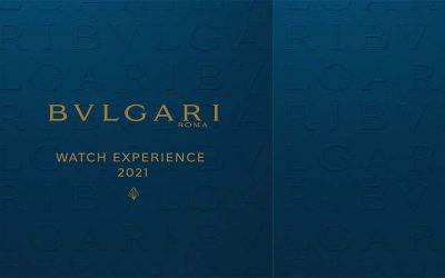 Bvlgari celebra su 'Watch Experience' 2021 en MéxicoSubtítulo