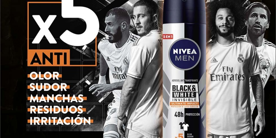Nivea Men y el Real Madrid presentan 'Ultimate Impact'